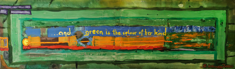green is the colour 2000 by Steve Haider